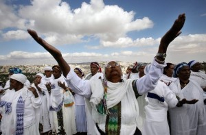 MIDEAST-ISRAEL-RELIGION-ETHIOPIA-JEWISH-SIGD
